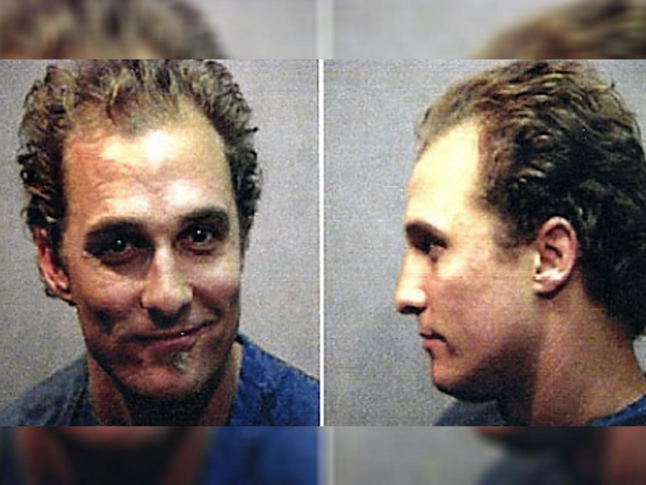 Matthew McConaughey Caught Playing Bongos Naked And High
