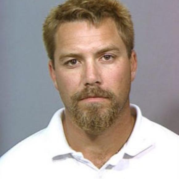 Scott Peterson, 2003 mug shot [Stainslaus County Sheriff's Department]
