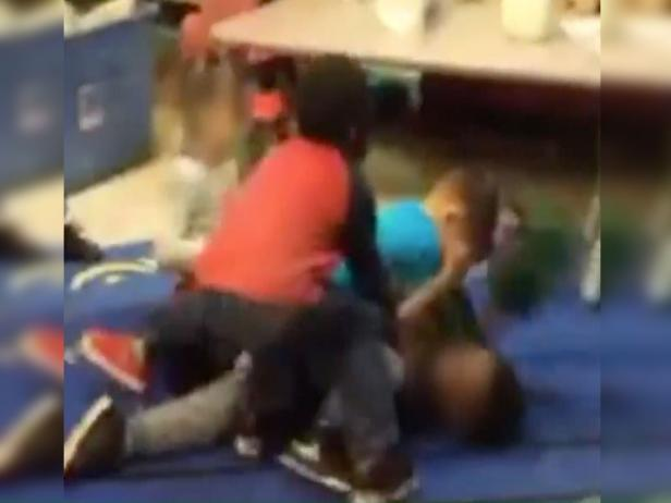 Kids fighting at Adventure Learning Center, screenshot [FOX2]