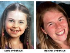 Kayla Unbehaun was with her mother on Independence Day 2017. The next day, her father arrived at the home where Heather and Kayla were supposed to be, but Heather's family told him they went camping in Wisconsin and never returned.