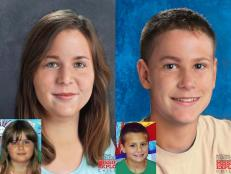 "The hunt continues today to find Chloie Leverette and her half-brother Christopher ""Gage"" Daniel."