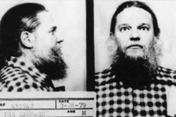 Mug shots of Ira Einhorn [Wikimedia Commons]