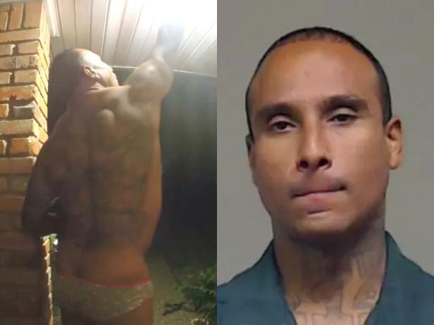 Michael Anthony Jimenez [Ring video/screenshot; Wylie Police Department]