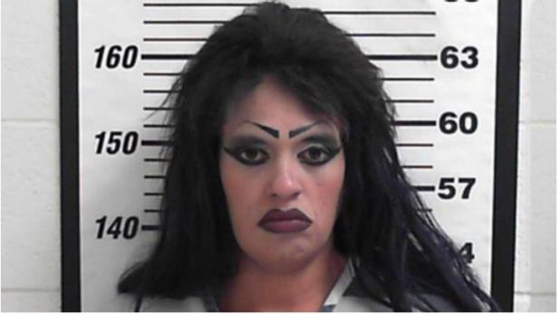 Mug shot of Heather Garcia [Davis County Jail]