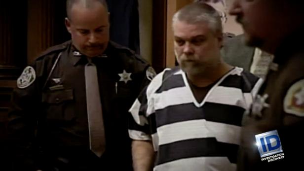 Steven Avery in custody [Investigation Discovery]