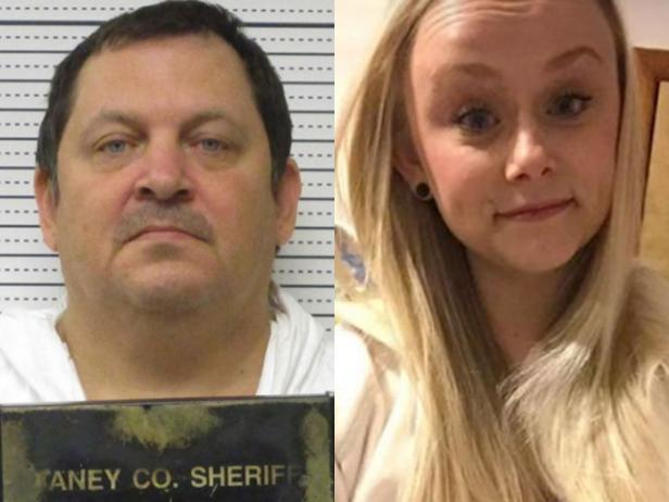 Mug shot of Aubrey Trail [Saline County Sheriff's Office]; Sydney Loofe [Lincoln Police Department]