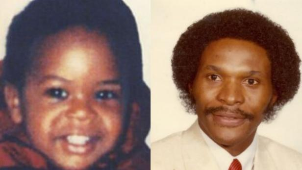 Jermaine Mann as a toddler; Alan Mann [Missing Children Society of Canada]