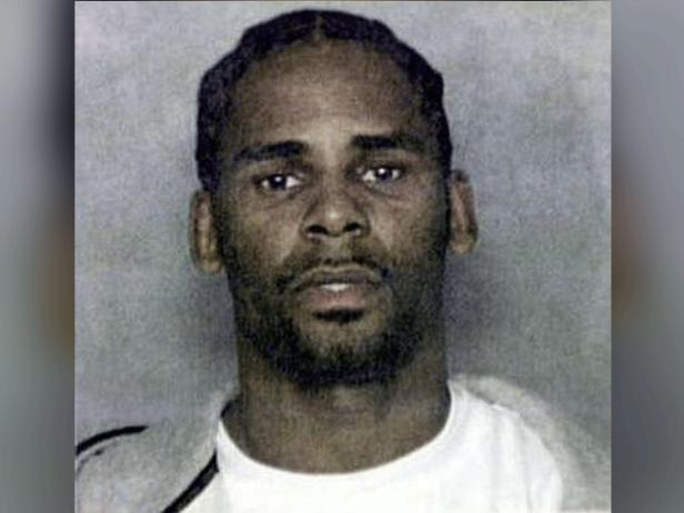 R. Kelly mug shot [Miami Police Department]