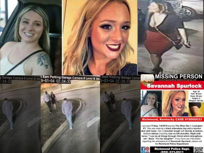 Cops Question Two Men Last Seen With Missing Kentucky Mom Savannah