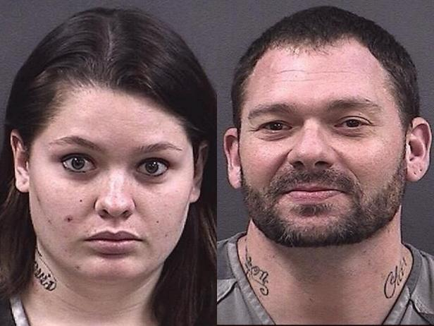 Samantha Kershner, Travis Fieldgrove [Hall County Jail]
