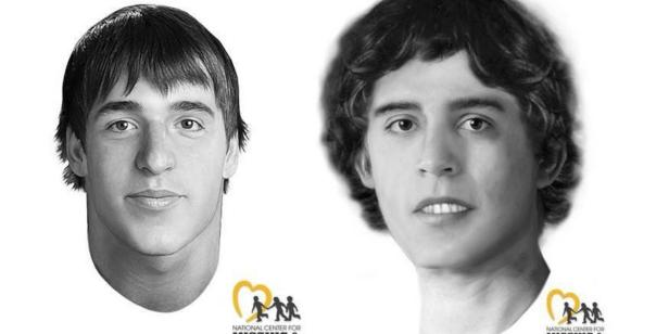 Reconstructed faces of unidentified John Wayne Gacy Victims [National Center for Missing and Exploited Children]