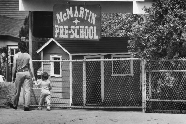 The McMartin PreSchool in Manhattan Beach, California [Lacy Atkins/Los Angeles Times via Getty Images]