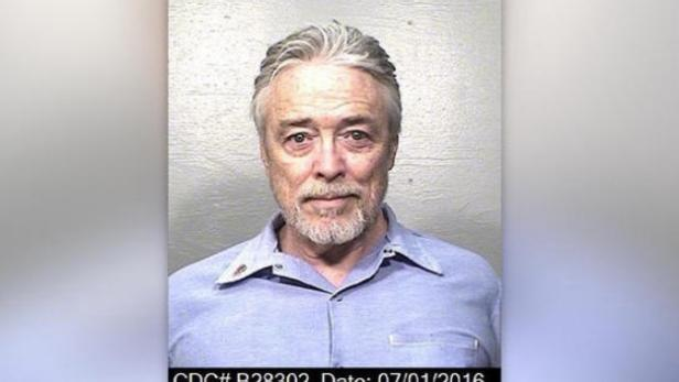 Mug shot of Bobby Beausoleil [California Department of Corrections]