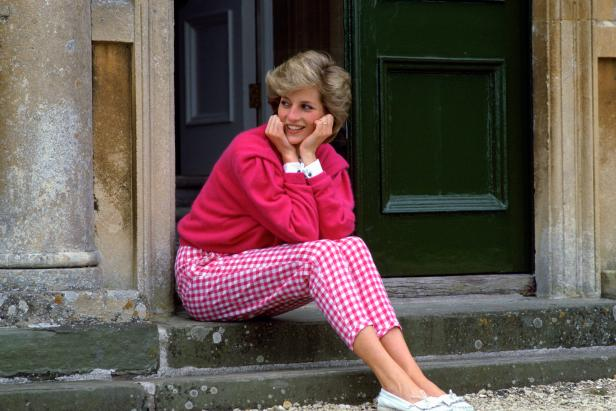 Princess Diana at Highgrove, her country home [Tim Graham Photo Library via Getty Images]