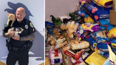 Indiana Cops Ask For Cat Food Instead Of Cash For Parking Tickets