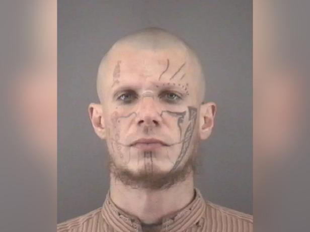 Mug shot of Pazuzu Algarad [Forsyth County Police Department]