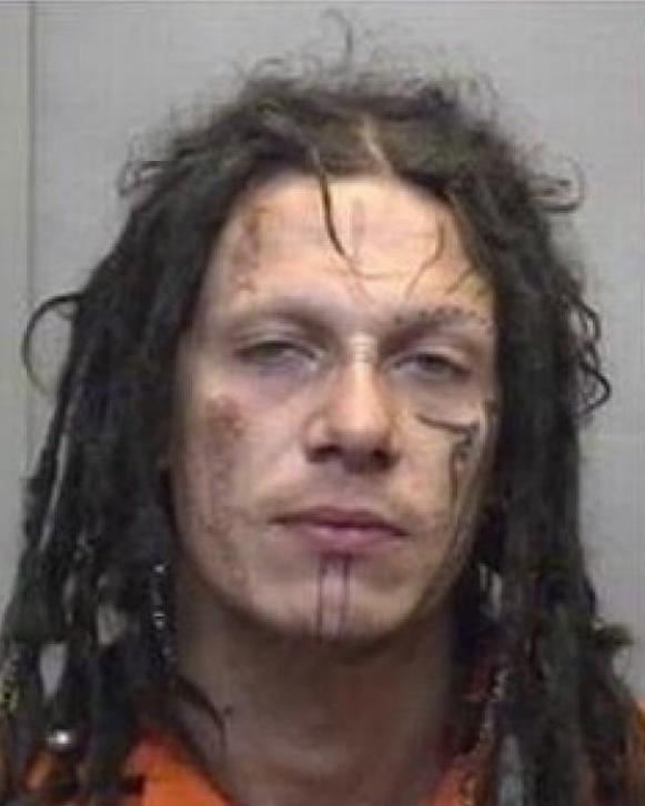 2010 mug shot of Pazuzu Algarad [Forsyth County Department of Corrections]