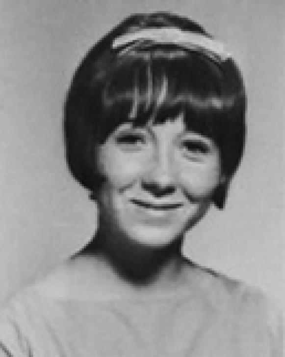 "Lynette ""Squeaky"" Fromme as a junior in high school, 1965 [Wikipedia]"