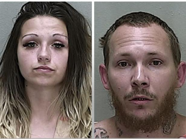 McKenzee Dobbs and William Parrish Jr. [Marion County Sheriff's Office]